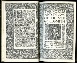 The poems and plays of Oliver Goldsmith (1930)