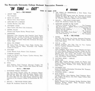 In Time-Out Revue Programme