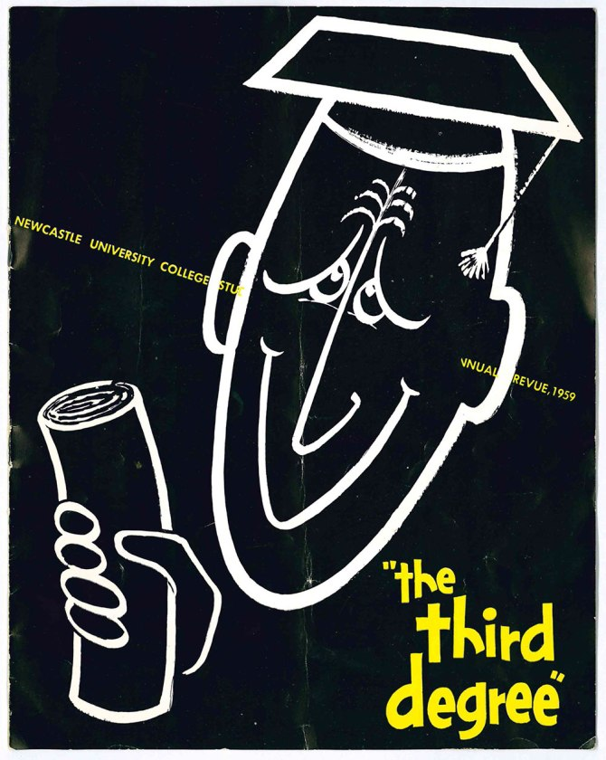 The Third Degree Revue Programme (Front Cover)
