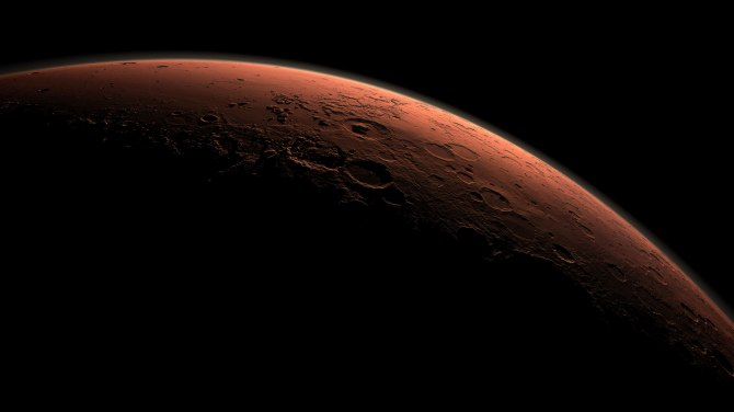 Mars (Image Courtesy of NASA)