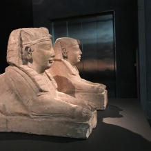 Ptolemaic Egyptian (?) Sphinxes, MONA