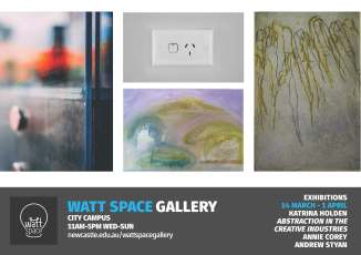 Watt Space March A3 Poster