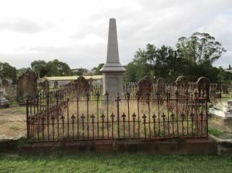 Headstone for Henry Rourke, Campbells Hill Cemetery, Telarah, NS